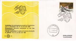 Nederland - Zegelkoerier Nederlandse Poststempels - Nationale Potzegeltentoonstelling Driestromenpost Dordrecht  Nr. 171 - Marcofilie - EMA (Print Machine)