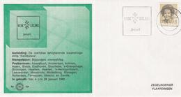 Nederland - Zegelkoerier Nederlandse Poststempels - Kerkbalans 1982 - Zwolle - Nr. 154 - Marcofilie - EMA (Print Machine)