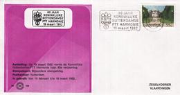 Nederland - Zegelkoerier Nederlandse Poststempel - 80 Jaar Koninklijke Rotterdamse PTT Harmonie - Nr. 156 - Marcofilie - EMA (Print Machine)
