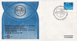 Nederland - Zegelkoerier Nederlandse Poststempel - Overschie Deelgemeente Rotterdam - Nr. 152 - Marcofilie - EMA (Print Machine)