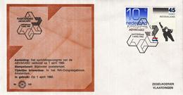 Nederland - Zegelkoerier Nederlandse Poststempel - Fusiecongres ABVAKABO - Amsterdam - Nr. 159 - Marcofilie - EMA (Print Machine)