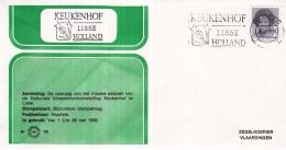 Nederland - Zegelkoerier Nederlandse Poststempel - Keukenhof Lisse HOLLAND - Nr. 162 - Marcofilie - EMA (Print Machine)