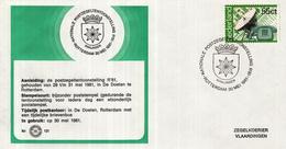 Nederland - Zegelkoerier Nederlandse Poststempel - Nationale Postzegeltentoonstelling Rotterdam - Kralingen - Nr. 121 - Marcofilie - EMA (Print Machine)
