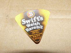 Cheese Queso Kase Label Etikette Etiqueta ~1920-1950 SWIFT'S WELSH RAREBIT LONDON ENGLAND - Quesos