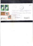 Lettre Recommandée En Exprès De Côte D'Ivoire Vers La Belgique - 1998 (à Voir) - Côte D'Ivoire (1960-...)