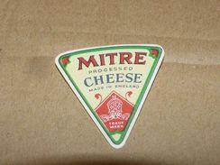Cheese Queso Kase Label Etikette Etiqueta ~1920-1950 MITRE ENGLAND - Quesos