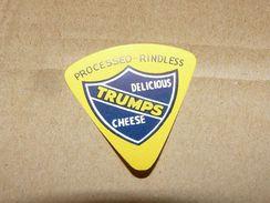 Cheese Queso Kase Label Etikette Etiqueta ~1920-1950 RINDLESS TRUMPS - Quesos