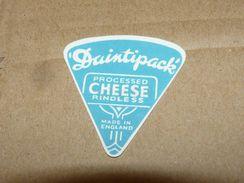 Cheese Queso Kase Label Etikette Etiqueta ~1920-1950 DUINTIPACK RINDLESS ENGLAND - Quesos