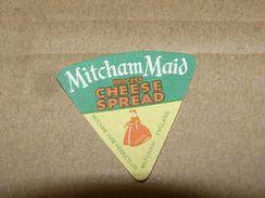 Cheese Queso Kase Label Etikette Etiqueta ~1920-1950 ENGLAND MITCHAM MAID - Quesos