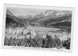 Hotel Maloja-Kulm - Maloja - Engadin Viaggiata 1920 Bollo Asportato - GR Grisons