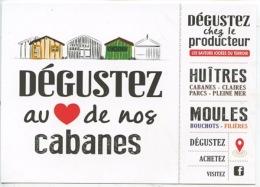"""Dégustez Au """"Coeur"""" De Nos Cabanes Huitres Claires Parcs Pleine Mer Moules Bouchots Filieres Chez Le Producteur - Pesca"""