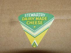 Cheese Queso Kase Label Etikette Etiqueta ~1920-1950 STEWARTRY DAIRY MADE - Quesos