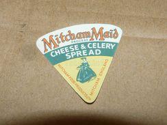 Cheese Queso Kase Label Etikette Etiqueta ~1920-1950 MITCHAM MAID CELERY SPREAD ENGLAND - Quesos