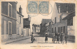 78-ACHERES- RUE DE SAINT GERMAIN - Acheres