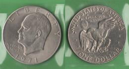 USA 1971 Eisenhower Dollar Stati Uniti - Emissioni Federali