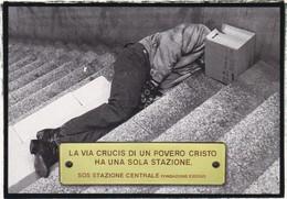 PROMOCARD N°   3188  SOS STAZIONE CENTRALE FONDAZIONE EXODUS - Publicité