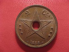 Congo Belge - 2 Centimes 1888 2608 - Congo (Belge) & Ruanda-Urundi