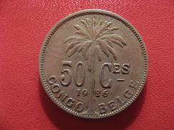Congo Belge - 50 Centimes 1926 Albert Roi Des Belges 2610 - Congo (Belge) & Ruanda-Urundi