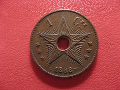 Congo Belge - Centime 1888 2600 - Congo (Belge) & Ruanda-Urundi