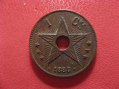 Congo Belge - Centime 1888 2602 - Congo (Belge) & Ruanda-Urundi
