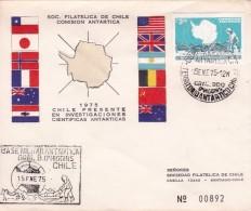 Chili - Lettre - Expéditions Antarctiques