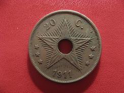 Congo Belge - 20 Centimes 1911 2578 - Congo (Belge) & Ruanda-Urundi