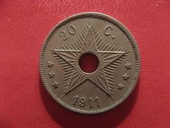 Congo Belge - 20 Centimes 1911 2584 - Congo (Belge) & Ruanda-Urundi