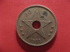Congo Belge - 20 Centimes 1911 2586 - Congo (Belge) & Ruanda-Urundi