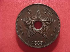 Congo Belge - 5 Centimes 1888/7 2556 - Congo (Belge) & Ruanda-Urundi