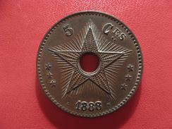 Congo Belge - 5 Centimes 1888/7 2561 - Congo (Belge) & Ruanda-Urundi