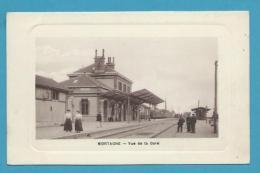 CPA  Chemin De Fer Intérieur De La Gare MORTAGNE 61 - Mortagne Au Perche