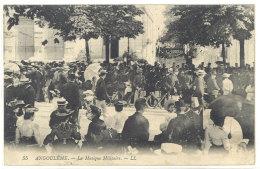 Cpa Angoulême - La Musique Militaire   ((S.101)) - Angouleme