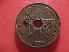 Congo Belge - 10 Centimes 1888 - Frappe Médaille 2544 - Congo (Belge) & Ruanda-Urundi
