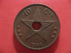 Congo Belge - 10 Centimes 1894 2538 - Congo (Belge) & Ruanda-Urundi