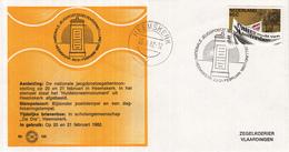Nederland - Zegelkoerier Nederlandse Poststempel - Nationale Jeugdpostzegeltentoonstelling - Heemskerk - Nr. 155 - Marcofilie - EMA (Print Machine)