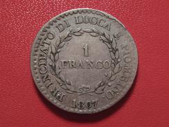 Italie - Lucca E Piombino - 1 Franco 1807 9791 - Regional Coins
