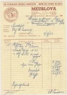 LEUVEN-MEUBLOVA-MEUBELFABRIEK-DIESTSESTRAAT-76-84-MEUBELPALEIS-2 DOCUMENTEN-NAAR-VERTRIJK-ZIE 2 SCANS-MOOI ! ! - Belgium