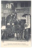 Cpa Bourges - Exposition Automobile Agricole - Stand De La Maison Marcelle ...( Cycles ) ((S.115)) - Bourges