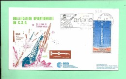 ENVELOPPE: Tir Eridan16 Super-Arcas Kourou 14-11-1979