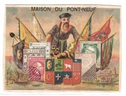 LOT 6 Carte PUB MAISON DU PONT NEUF - REPRÉSENTATION DE TIMBRES DU MONDE - Timbres (représentations)