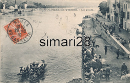 STe-COLOMBE-LES-VIENNE - N° 38 - LA JOUTE - Other Municipalities