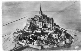 DEPT 50 :  Le Mont Saint Michel Vue Aérienne - Le Mont Saint Michel