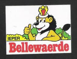 BELLEWAERDE - IEPER  (S 689) - Stickers