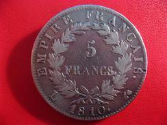 5 Francs Napoléon Ier 1810 L Bayonne L à Gauche IMG_2356 - France