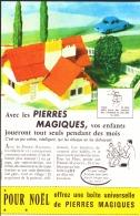 """PUB  """" PIERRES  MAGIQUES  """" 1962 (1) - Altri"""