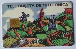 TARJETA TELEFONICA - Telefonkarten