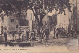 13 CASSIS - Place De La République / ABIMEE / CSG DECHIRE - Cassis