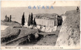 GRECE - CORFOU - Les Remparts Du Fort Neuf Et Le Fond De La Rade - Greece