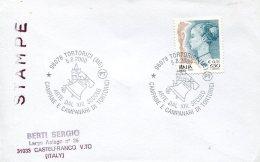 14567 Italia, Special Postmark  2000 Tortorici , The Bell Of Tortorici,  La Cloche De Tortorici