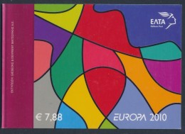 "GREECE/Griechenland, EUROPA 2010 ""Children's Books"" Booklet** - Europa-CEPT"